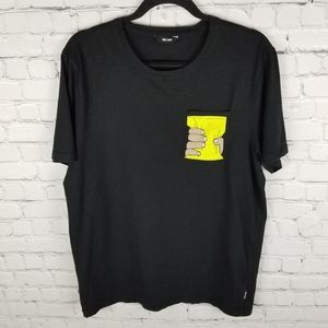 ONLY & SONS   single pocket crewneck graphic shirt